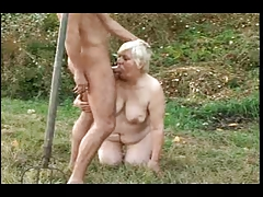 BBW GRANNY WITH Big ASS GET..