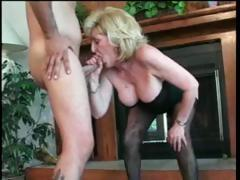 Patriarch mature blonde lady..