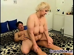 Chubby Granny Being Fucked..