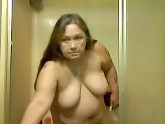granny full-grown shower pt1