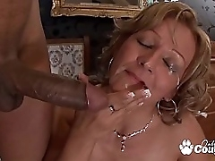 Horny granny cunt banging..
