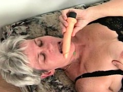 Mature Lass Orgasming Space..